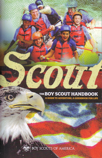 <i>Boy Scout Handbook</i> principle program book series supporting boy scout programs