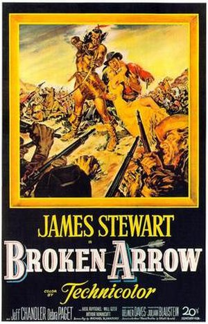 Broken Arrow (1950 film) - Theatrical release poster