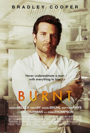 Burnt (film) - Theatrical release poster