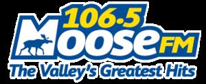 CHBY-FM - Image: CHBY 106.5Moose FM logo