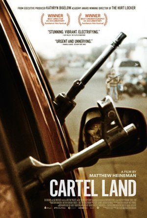 Cartel Land - Theatrical release poster