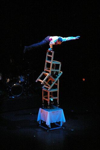 Chair acrobatics - Chair Balancing