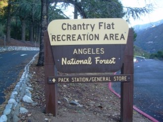 Chantry Flat - Entrance to the Picnic Area
