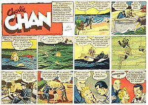 Charlie Chan - Alfred Andriola's Charlie Chan (6 June 1940)