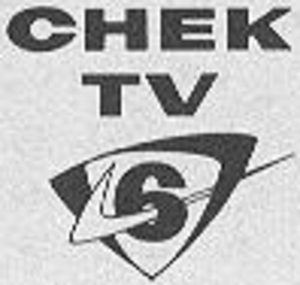 "CHEK-DT - CHEK logo used from early 1960s to 1963; it is the first known usage of a ""check mark"" as the station's logo."