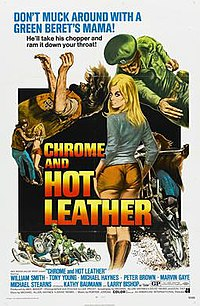 film poster for Chrome and Hot Leather