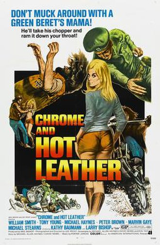 United States Army Special Forces in popular culture - film poster for Chrome and Hot Leather
