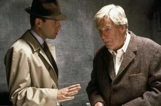 Children of the North - Patrick Malahide and Michael Gough as Colonel Mailer and Arthur Apple