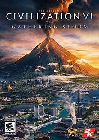 Civilization VI: Gathering Storm - Image: Civilization VI Gathering Storm Cover
