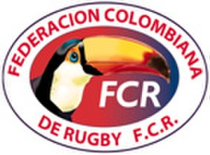 Colombia women's national rugby sevens team - Image: Colombia rugby logo
