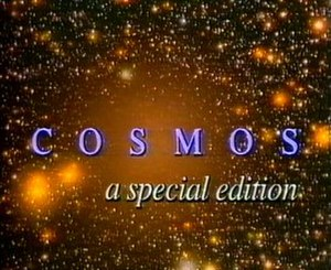 Cosmos: A Personal Voyage - Title card of the special edition of Cosmos