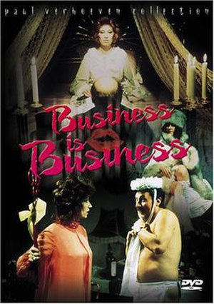 Business Is Business (film) - DVD release cover