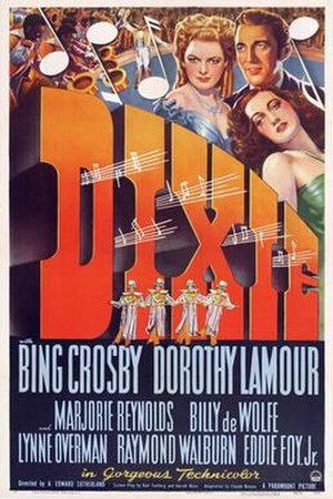 Dixie (film) - Image: Dixie Bing Crosby Film