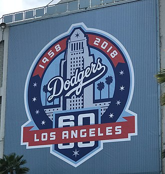 2018 Los Angeles Dodgers season - The Dodgers celebrated the 60th anniversary of their move to Los Angeles