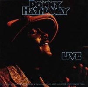 Live (Donny Hathaway album) - Image: Donny.Hathaway.live