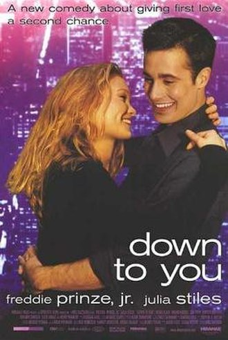 Down to You - Theatrical release poster