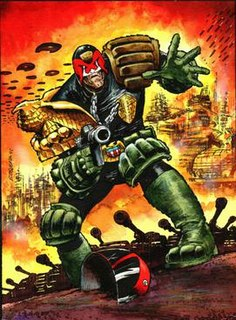 Judge Dredd Fictional character