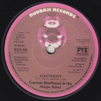 Electricity (Captain Beefheart song) - Image: Electricity