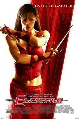 Elektra (2005 film) - Theatrical release poster