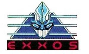 ERE Informatique - Exxos logo, designed by Didier Bouchon.