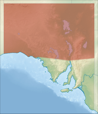 Far North (South Australia) - Approximate bounds of the Far North region within South Australia (including the Maralinga Tjarutja Lands, Yalata Aboriginal Reserve)