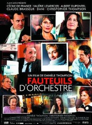Avenue Montaigne (film) - Image: Fauteuils dorchestre