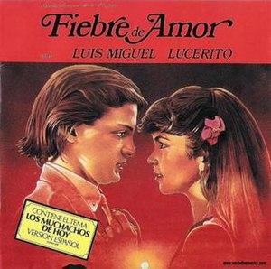 Fiebre de amor (album) - Image: Fiebredeamor