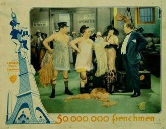 50 Million Frenchmen (film) - Image: Fifty Million Frenchmen