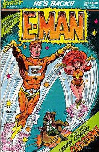 E-Man - Image: First Eman