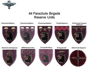 Part Time Units 44 Parachute Brigade