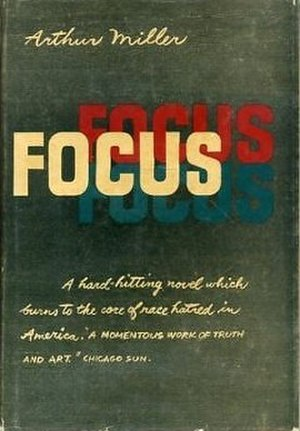 Focus (novel) - Cover of the first edition