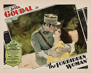 <i>The Forbidden Woman</i> (1927 film) 1927 film by Paul L. Stein