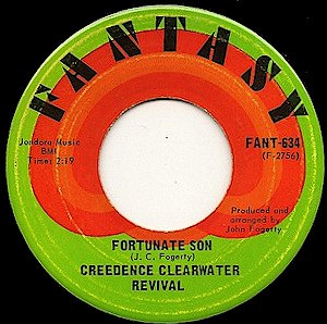 Fortunate Son - Image: Fortunate Son label
