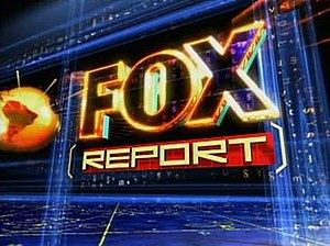 Fox Report - Fox Report logo from 2005 to 2007.