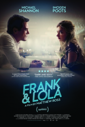 Frank & Lola - Theatrical release poster