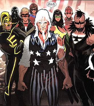 Freedom Fighters (comics) - Image: Freedomfightersdcu 0