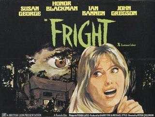 <i>Fright</i> (film) 1971 film by Peter Collinson