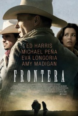 Frontera (2014 film) - Theatrical released poster