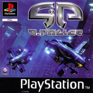 G-Police - European PlayStation version cover art