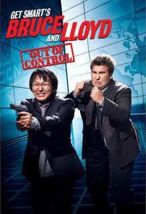 Get Smart's Bruce and Lloyd: Out of Control - DVD cover