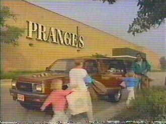 H. C. Prange Co. - Image of an average Prange's store, taken from a 1991 GMC dealers ad