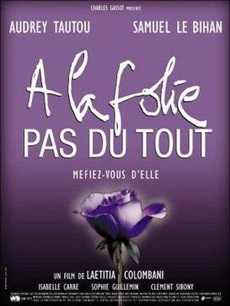 He Loves Me... He Loves Me Not (film) - French film poster for He Loves Me... He Loves Me Not