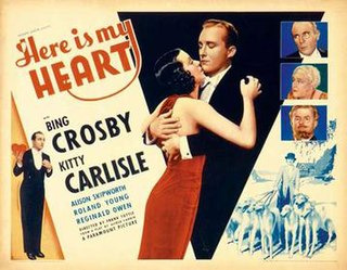 <i>Here is My Heart</i> 1934 film by Frank Tuttle, Edwin Justus Mayer