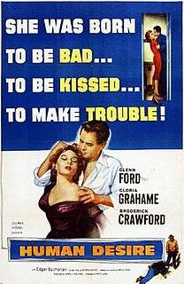 <i>Human Desire</i> 1954 film by Fritz Lang