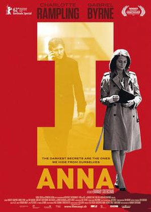 I, Anna - Theatrical release poster
