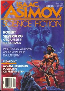 <i>Gilgamesh in the Outback</i> science fiction novella by Robert Silverberg