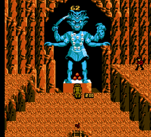Indiana Jones and the Temple of Doom (1988 video game) - The Sankara Stones in Wave 9.