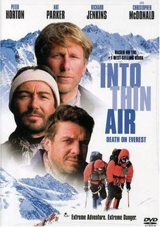 Into Thin Air: Death on Everest - DVD cover