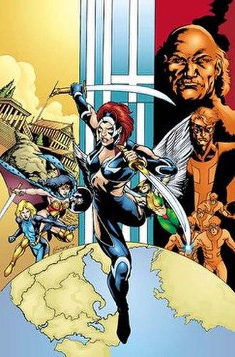 Nemesis (DC Comics) - Image: JSA AN1