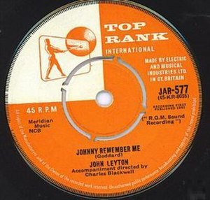 Johnny Remember Me - Image: Johnnyrememberme